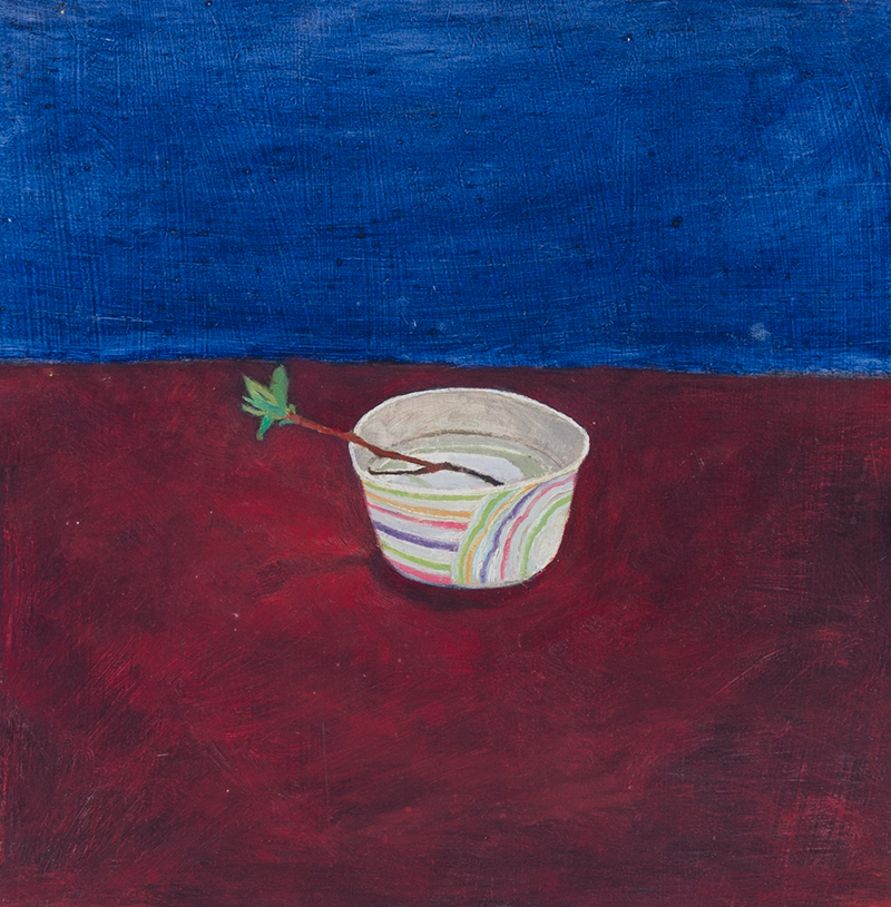 Helen Napper, 'Ice Cream And Twig', A0020