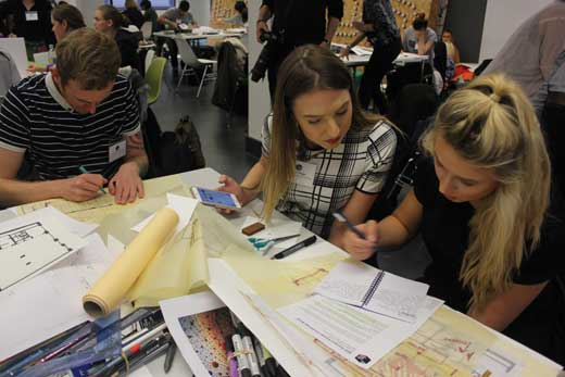 Final year students compete at BIID Design Challenge 2015 at London Campus Google