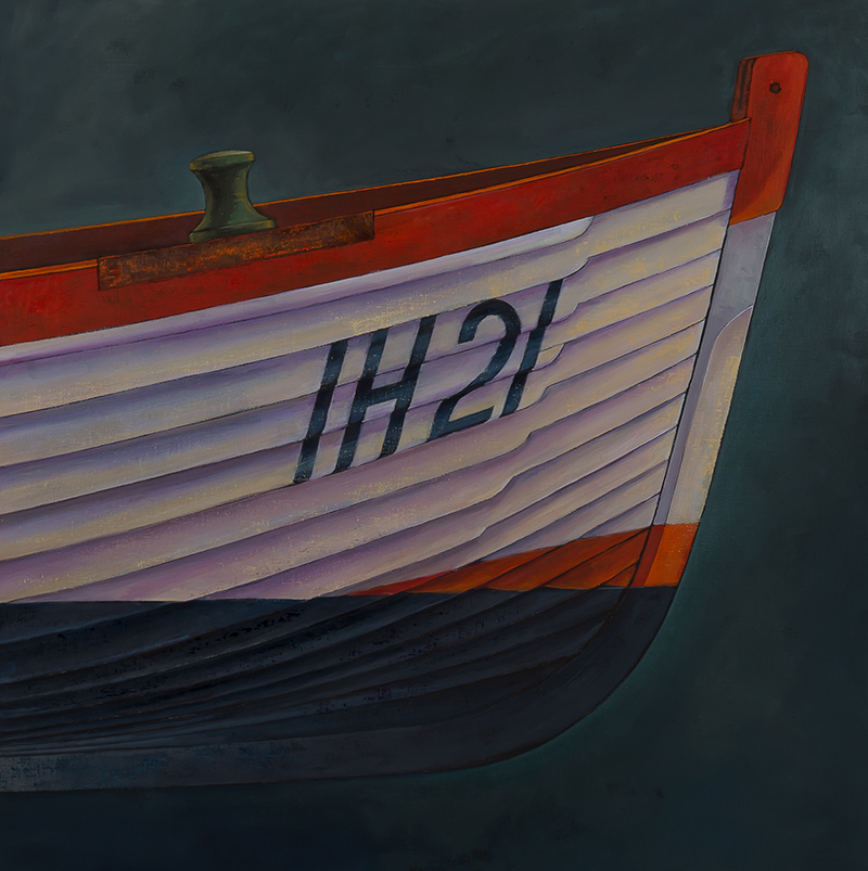 James Dodds, 'Aldeburgh Beach Boat', (Triptych Detail 1), A0028