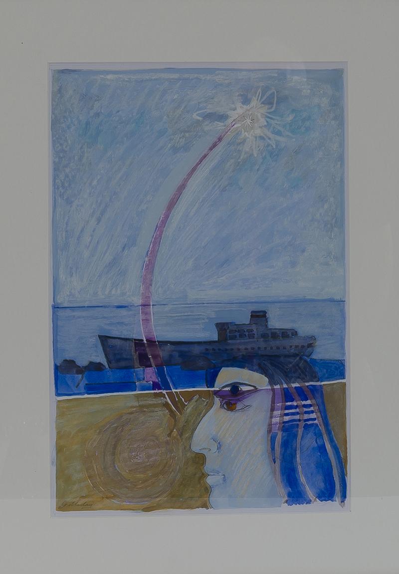 John Doubleday, 'Foreign Shore', A0048