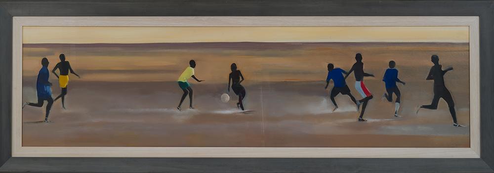 Katherine Hamilton, 'Evening Football', A0046