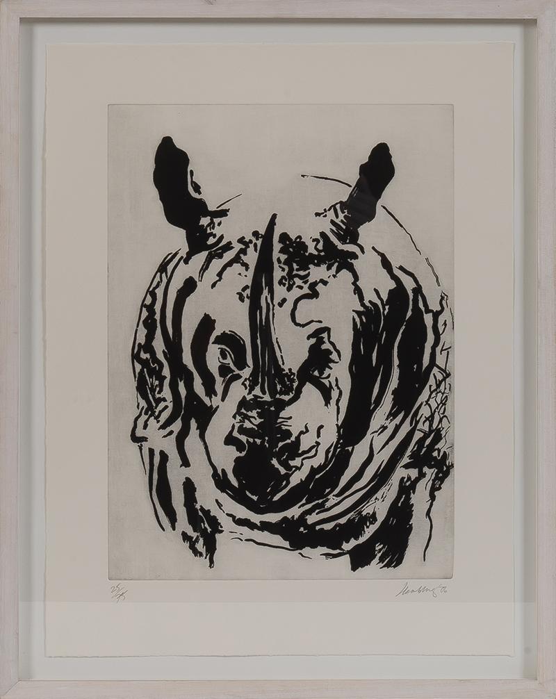 Maggi Hambling, 'Untitled', (Rhino), A0106