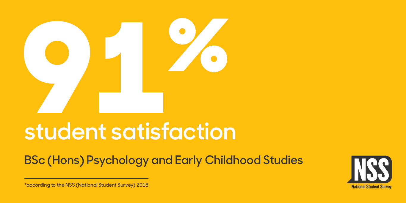 NSS Website Banner 2018 (courses) Psychology and Early Childhood Studies