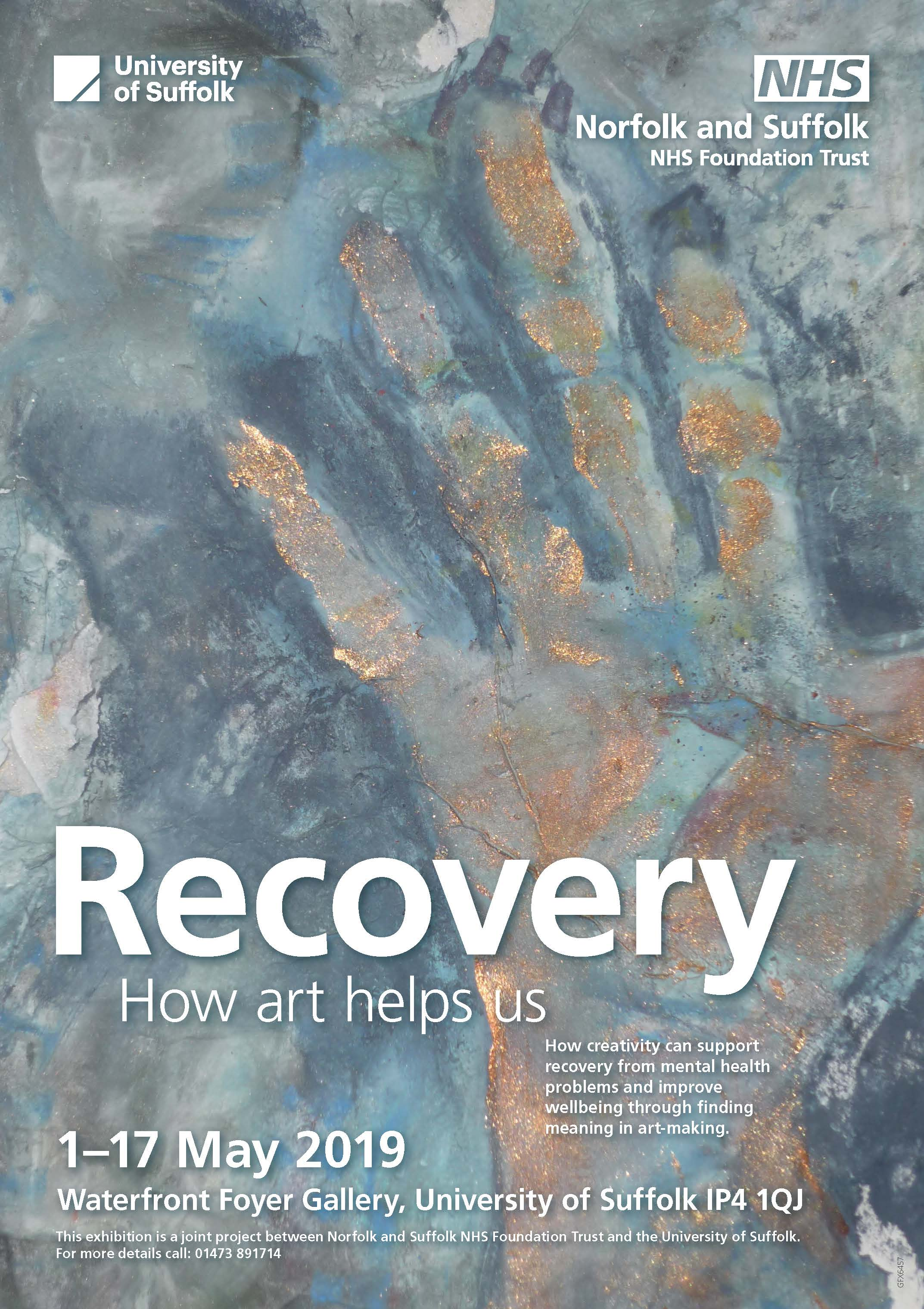 Recovery - Art Exhibition poster A4
