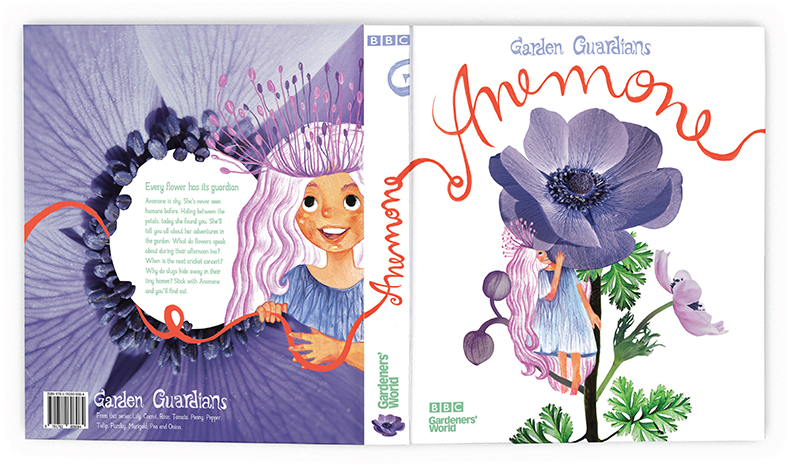 Anemone book cover by Sabina Manolache