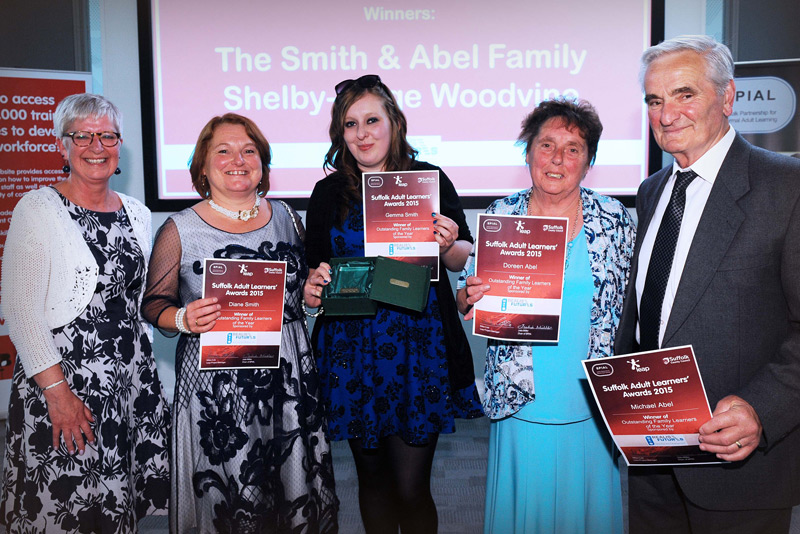 Smith and Abel Family x5