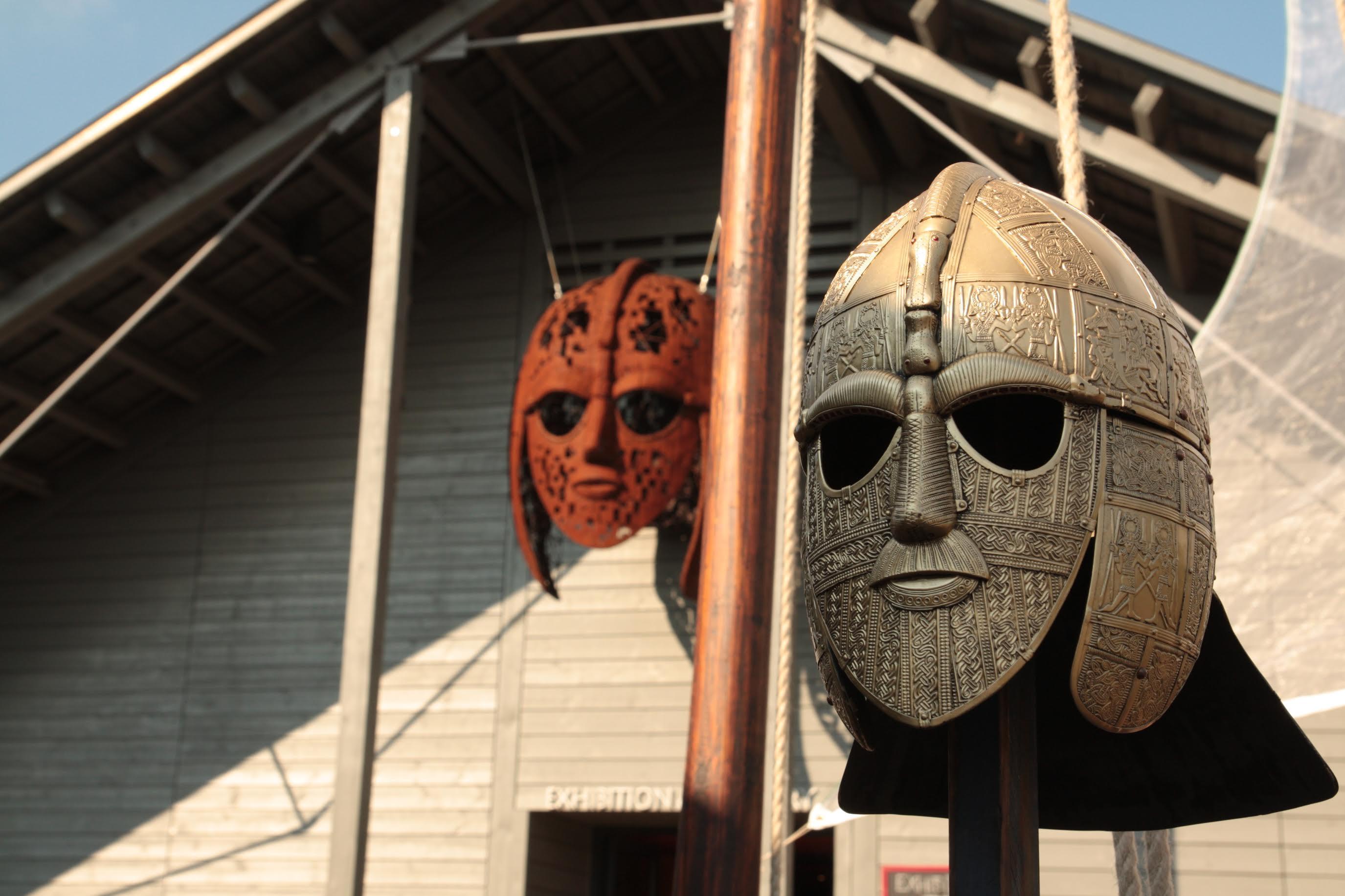 Sutton Hoo helmets