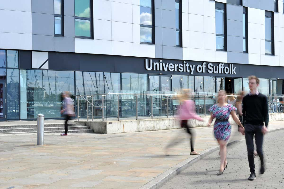 University of Suffolk on Ipswich Waterfront