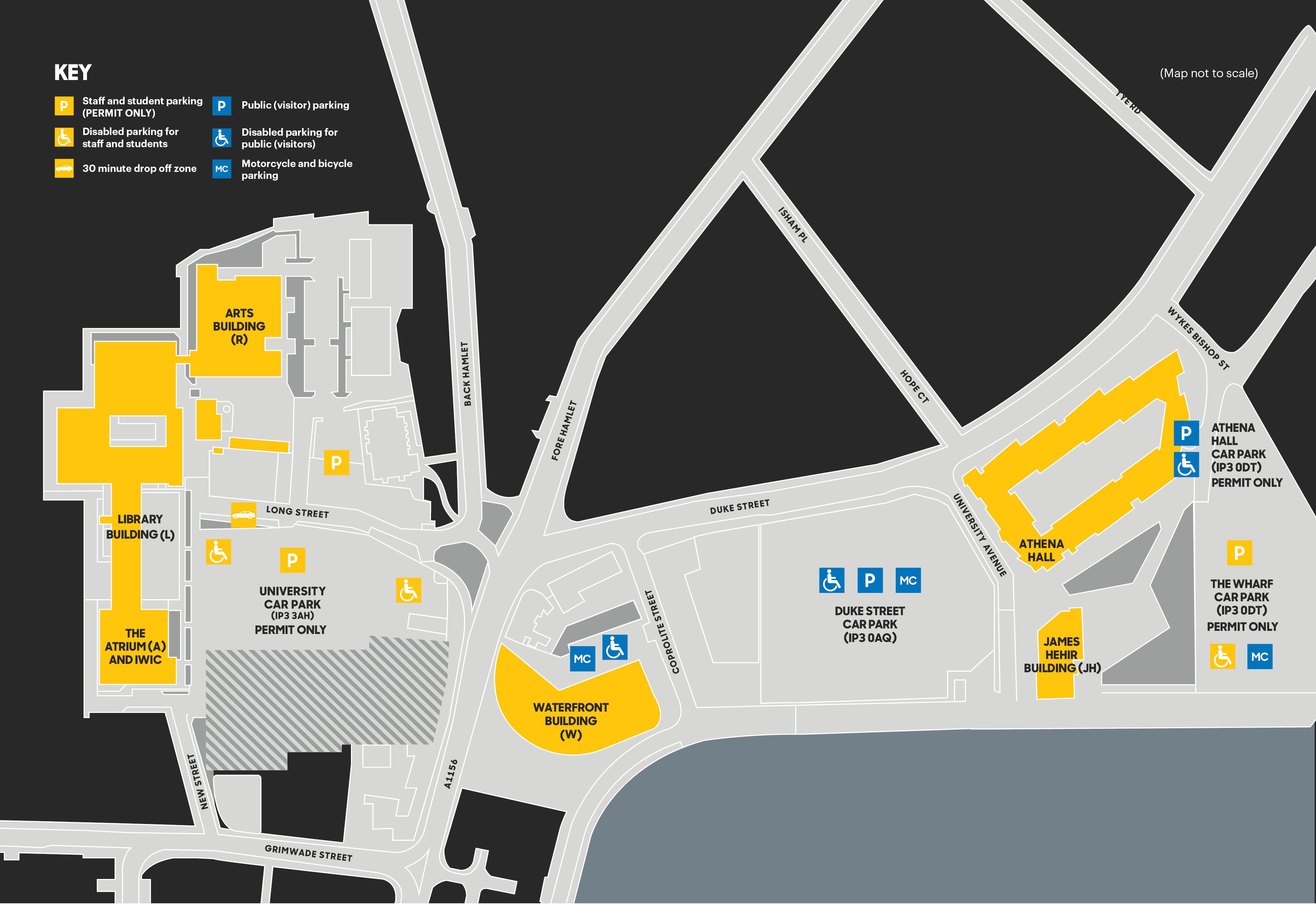 UOS Campus map 2019 1