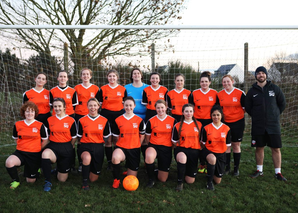 UoS womens football team 1