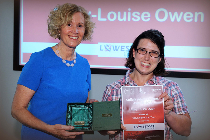 Volunteer- Mary-Louise Owen x2