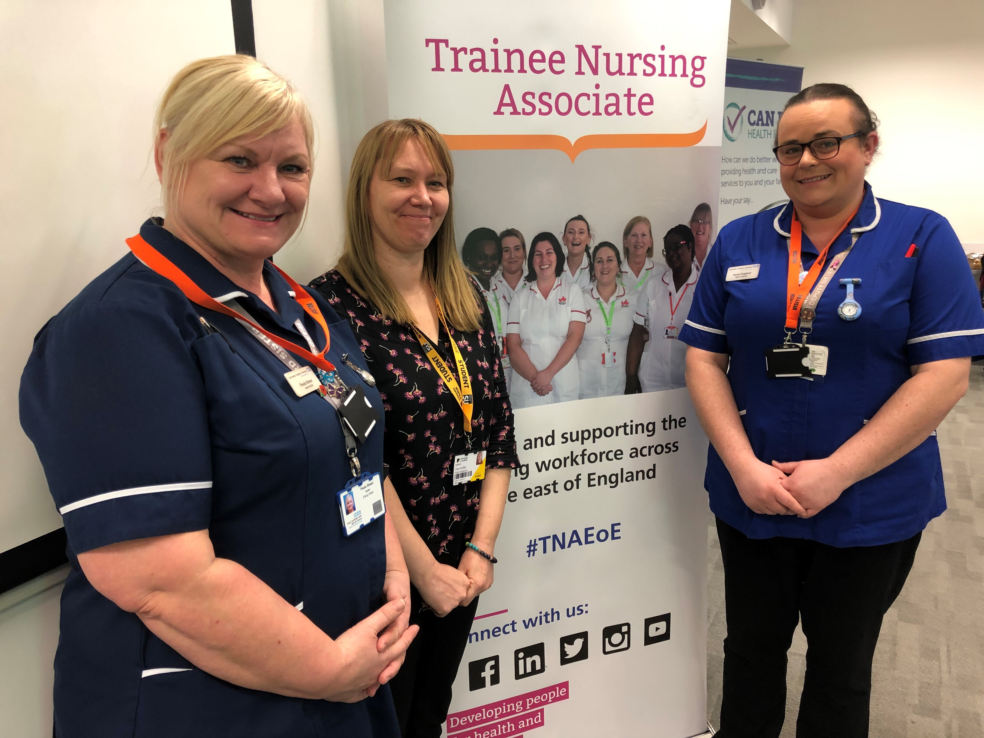 Nursing Associate celebration. East Suffolk and North Essex NHS Foundation Trust (3)