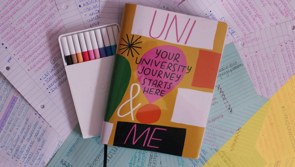 Notepads and revision notes