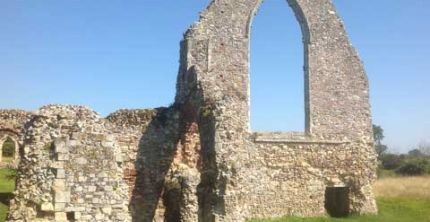 Leiston Abbey. Copyright: David Gill