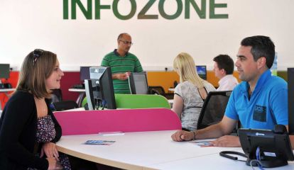 Infozone at University of Suffolk