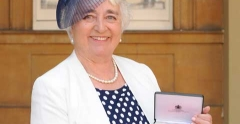 Deputy Chair of University Campus Suffolk Board receives OBE