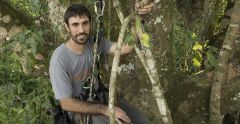 Mark Bowler  in the Peruvian Amazon