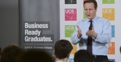 The Prime Minister at UCS