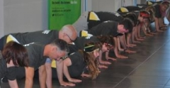Push up challenge at the University of Suffolk web