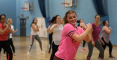 University of Suffolk SU Zumba