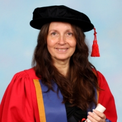 Celia Anderson Honorary Graduate