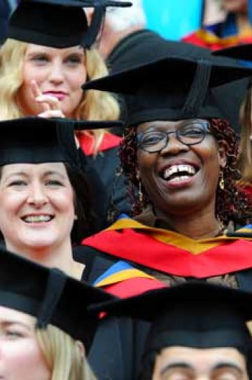 University of Suffolk graduates