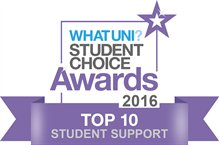 What Uni Student choice awards - top 10 student support