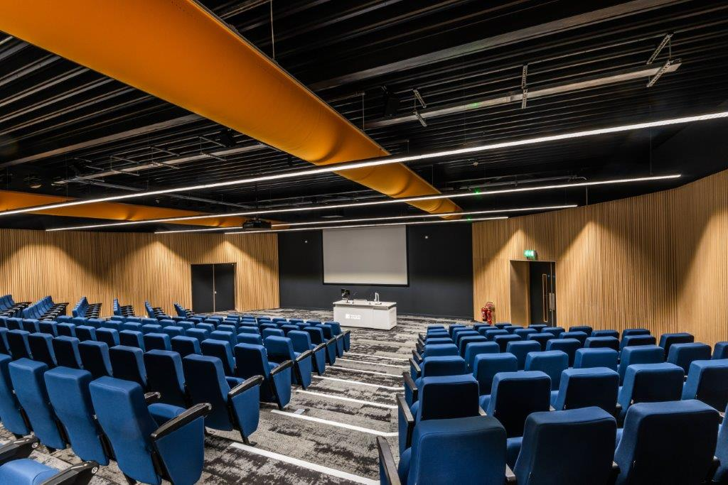 The auditorium at The Hold will be used by University of Suffolk students this academic year. Credit R G Carter