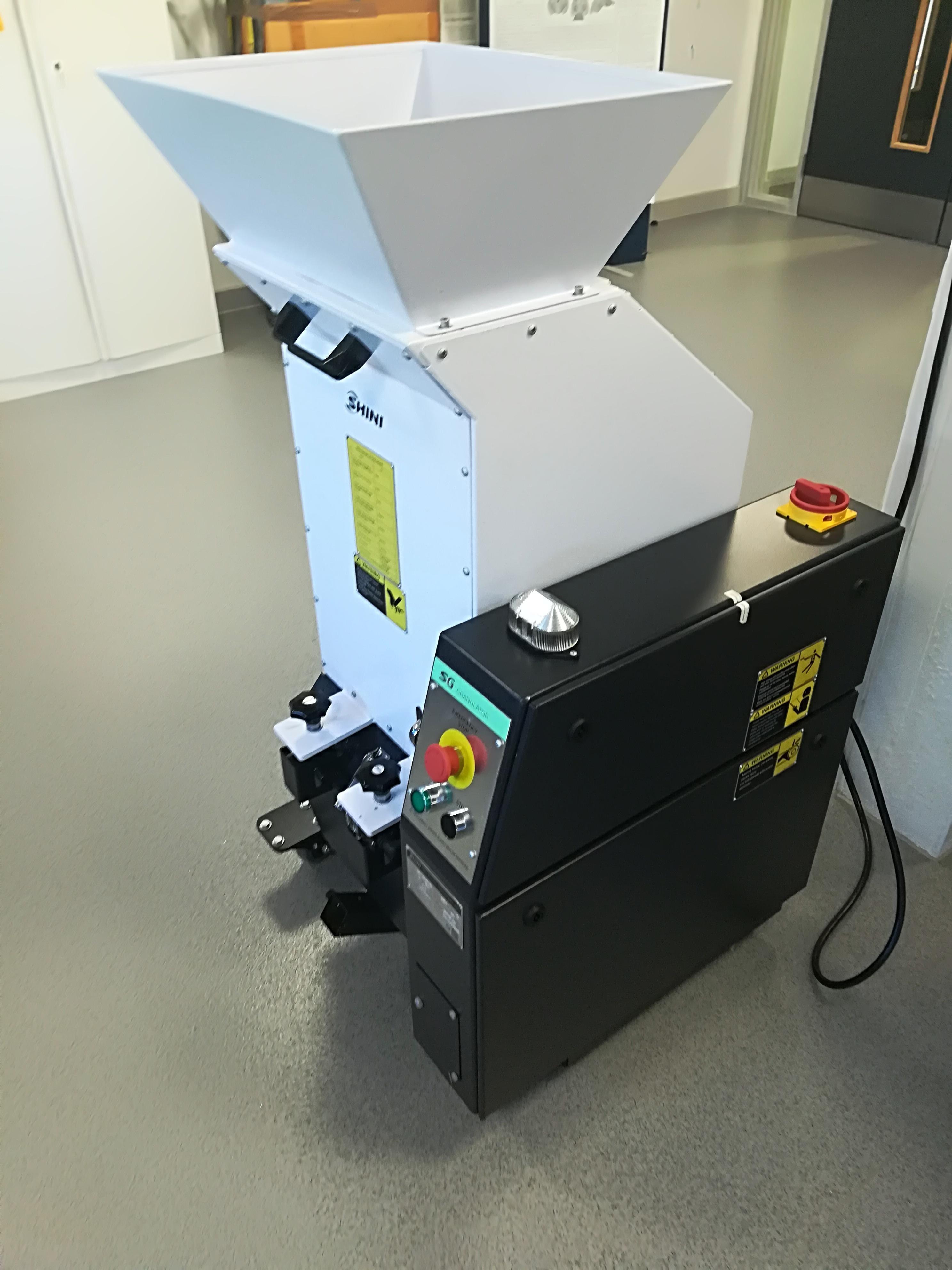 3D printer recycling unit