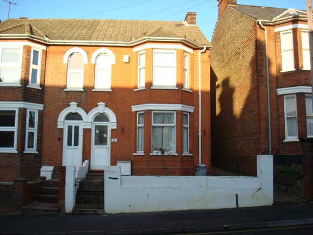 Exterior of a semi-detached house