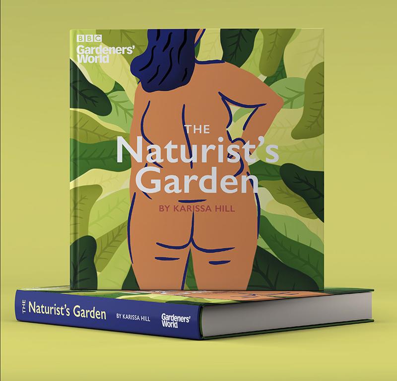 Book cover design for Gardeners' World