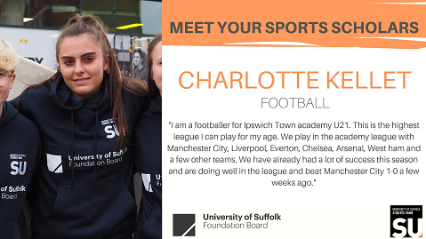 Charlotte kellet - sports Scholar 0