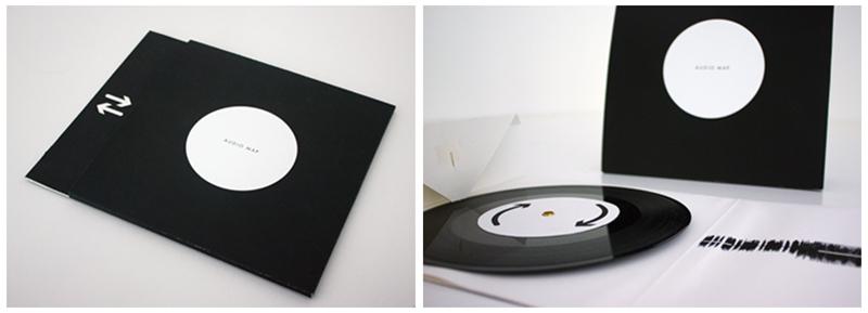experimental record sleeve