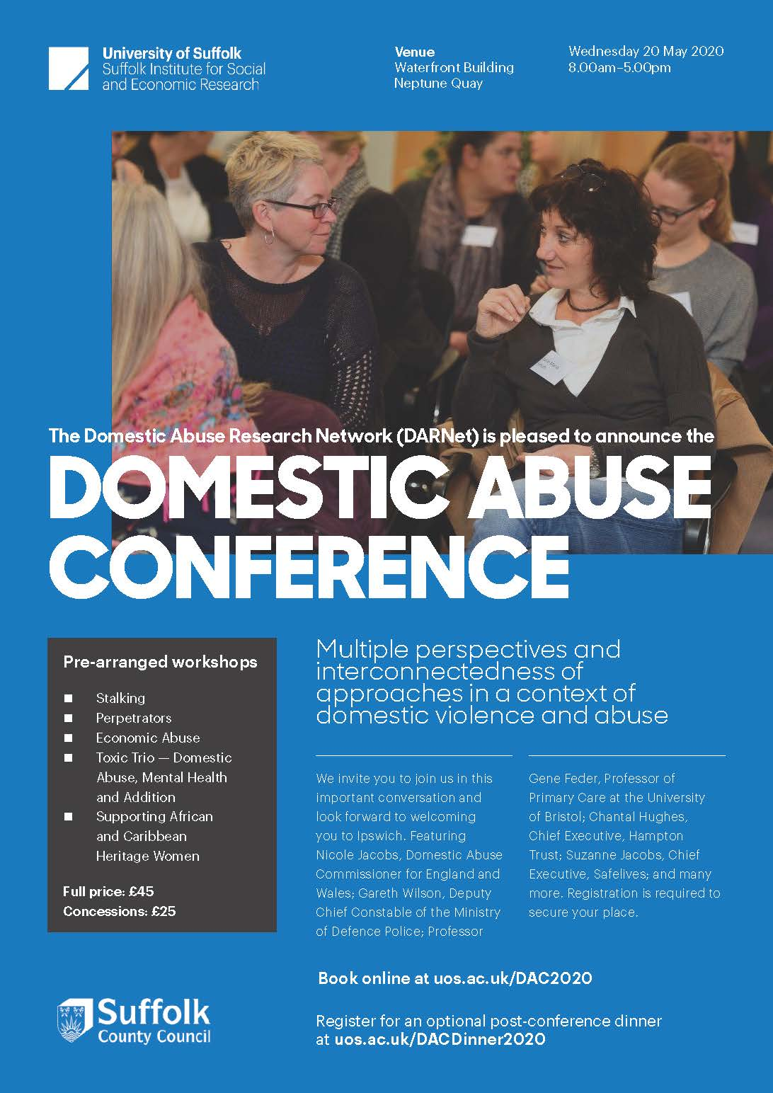 Domestic Abuse Conference 2020 A4 Flyer