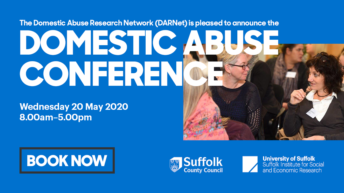 Domestic Abuse Conference 2020 Social Media Post