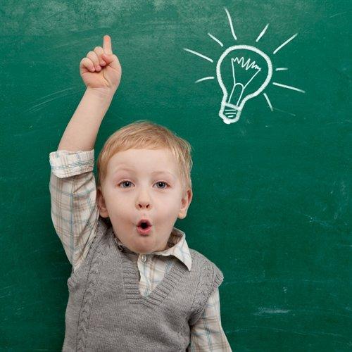 ECS- Boy with Light bulb