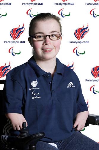 Evie Edwards 1. ParalympicsGB