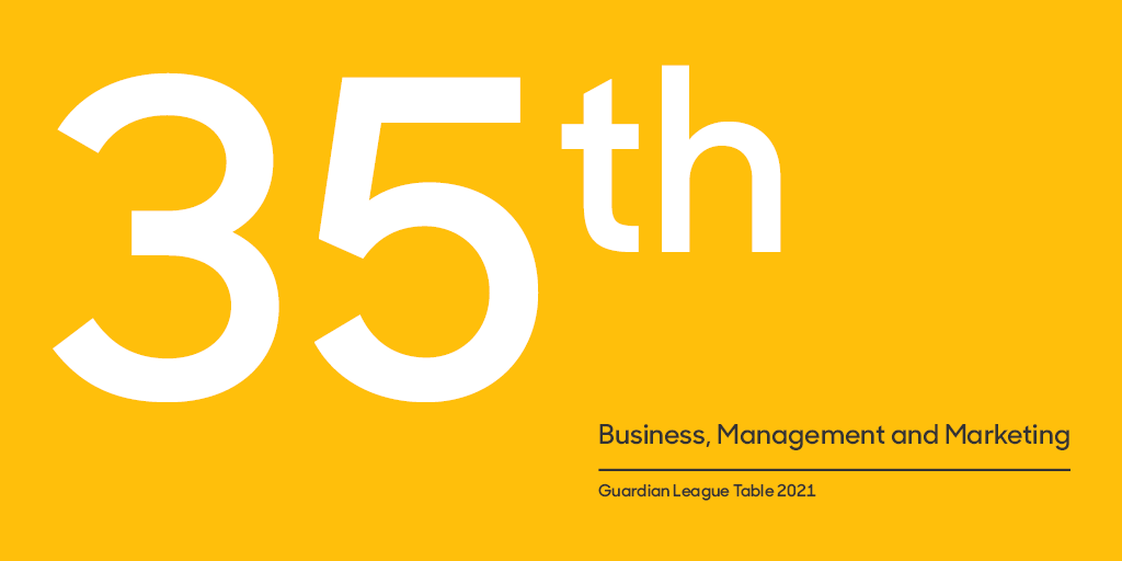 Best UK universities for business, management & marketing – league table | Education | The Guardian