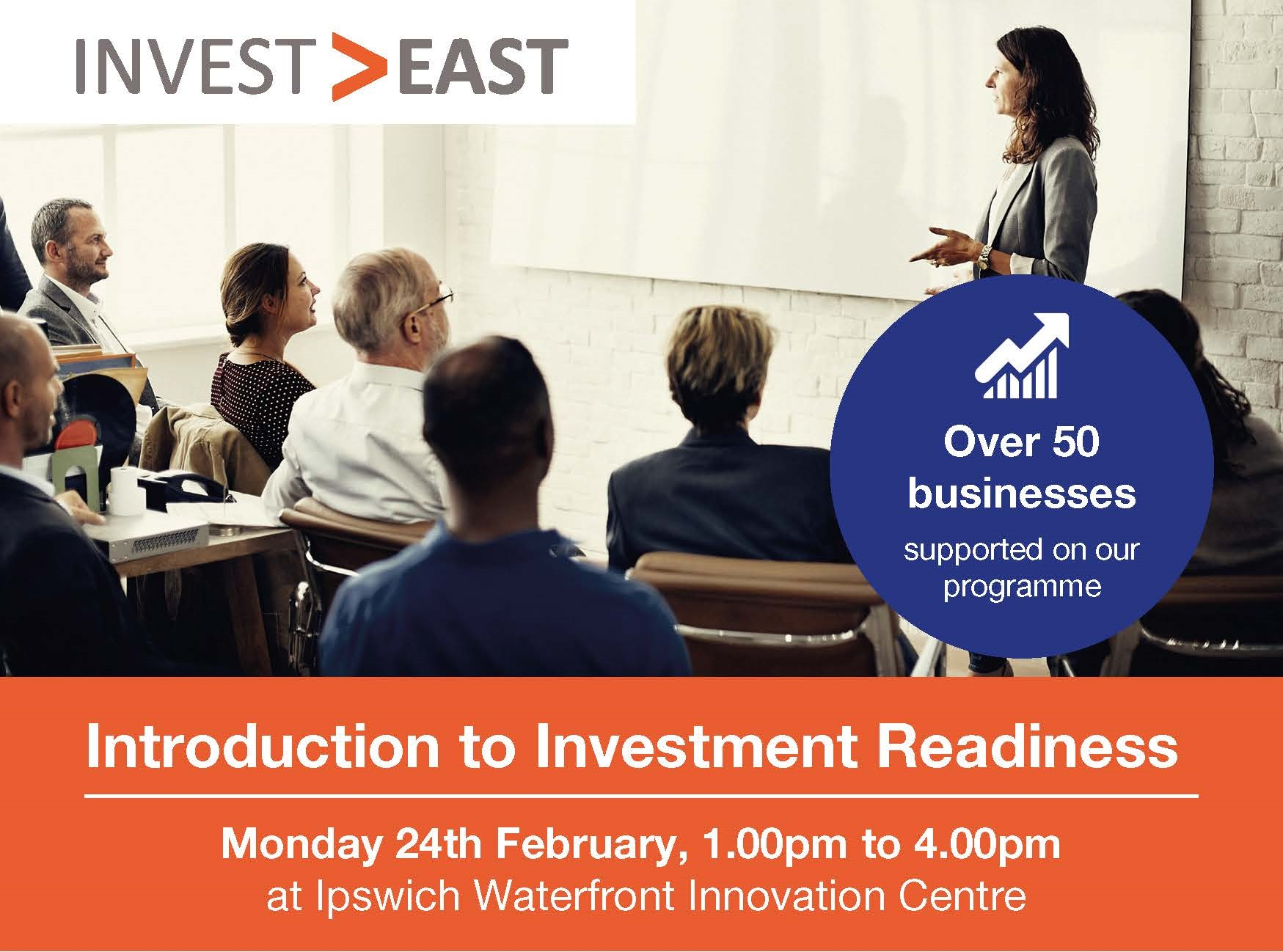 Invest East - IWIC ad 1