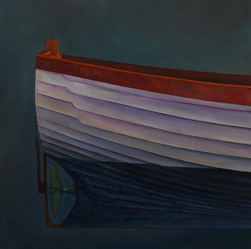 James Dodds, 'Aldeburgh Beach Boat', (Triptych Detail 3), A0028
