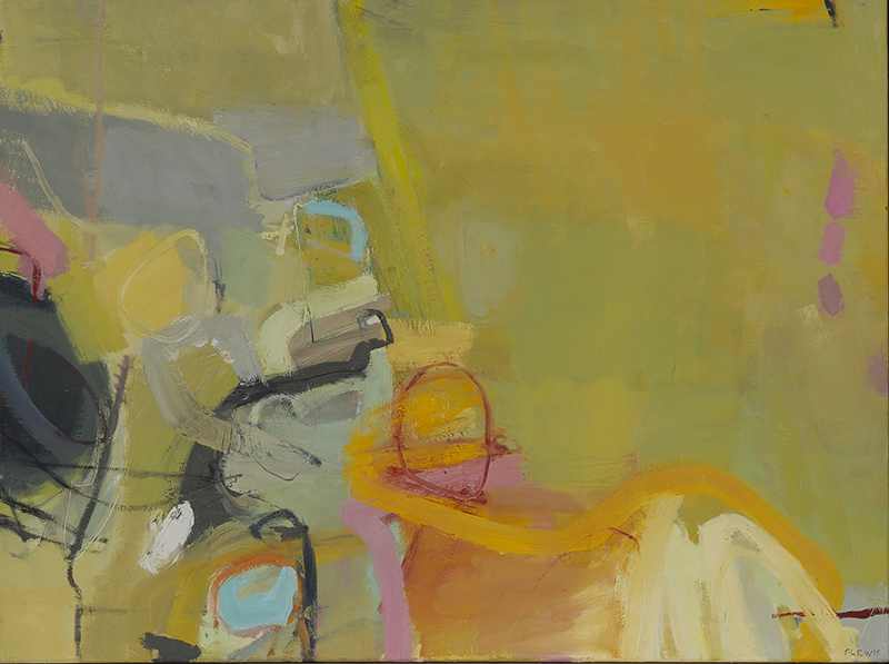 Jane Lewis, 'Mostly Yellow', A0047