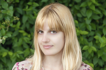 Head shot of Julianne Pachico, Royal Literary Fellow at the University of Suffolk