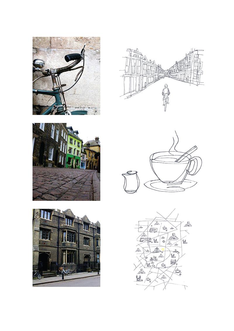 Kasia Plesnar brochure illustrations