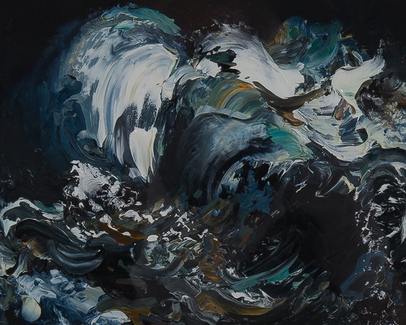 Maggi Hambling, 'Untitled', (Wave, detailed), A0107