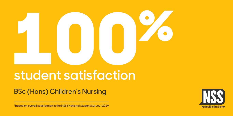 NSS Website Banners 2019 (courses) Children's Nursing