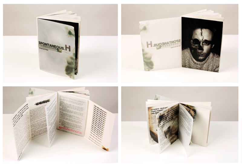 Book cover and internal pages