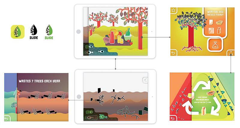 Slide app concept