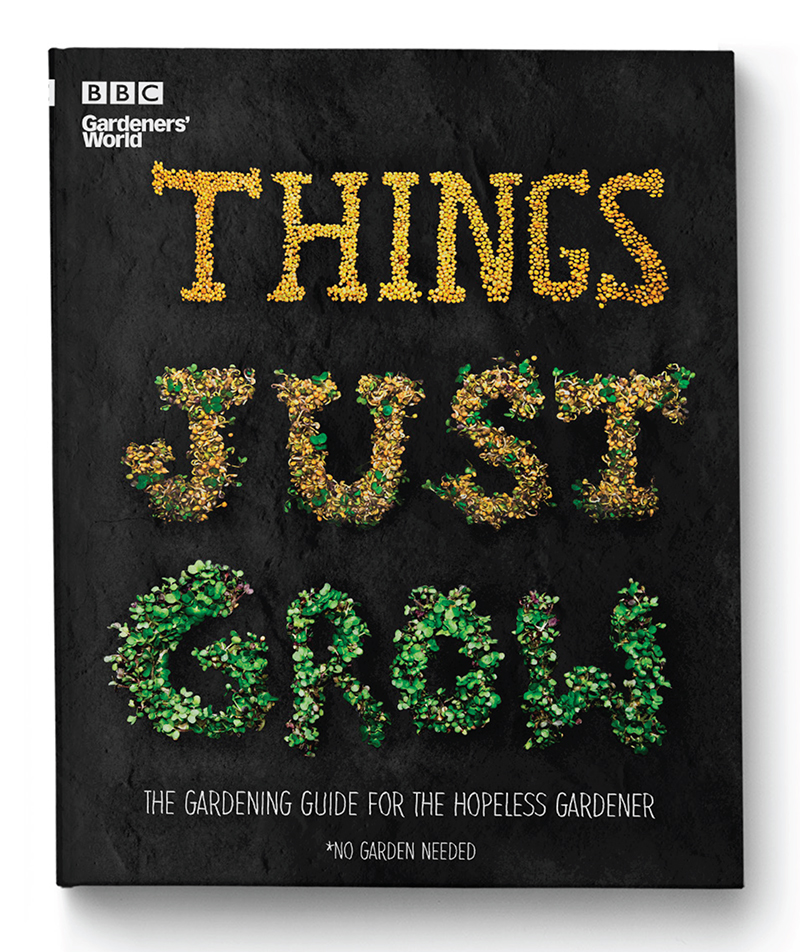 Things Just Grow book cover design