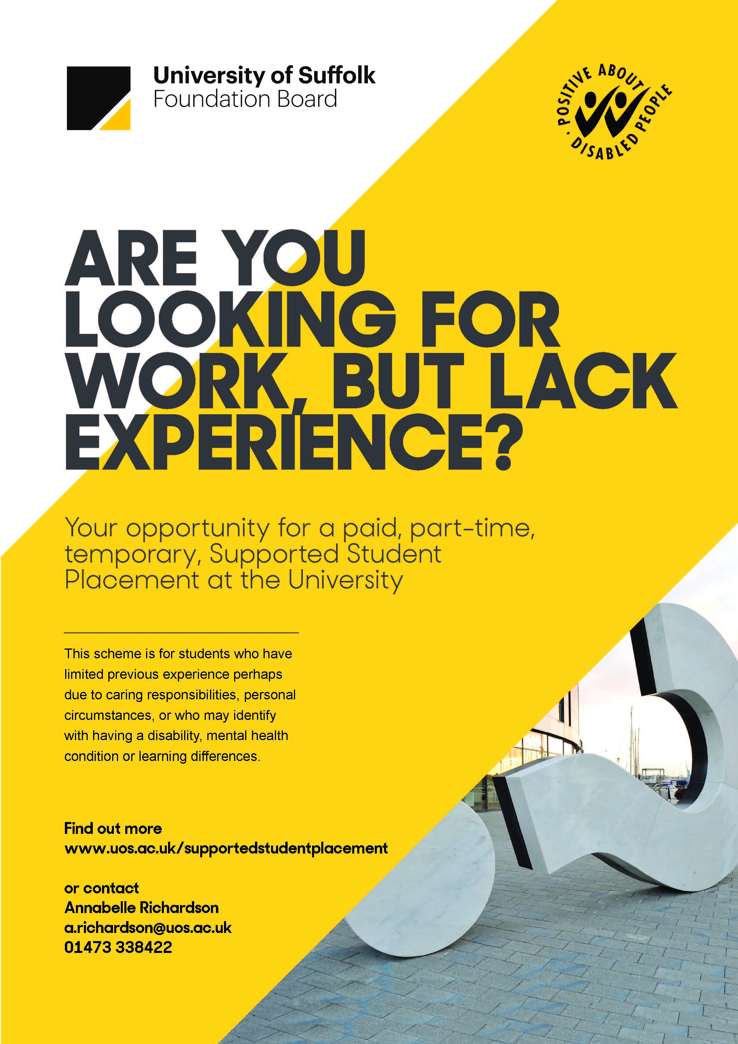Supported Placement Poster 1