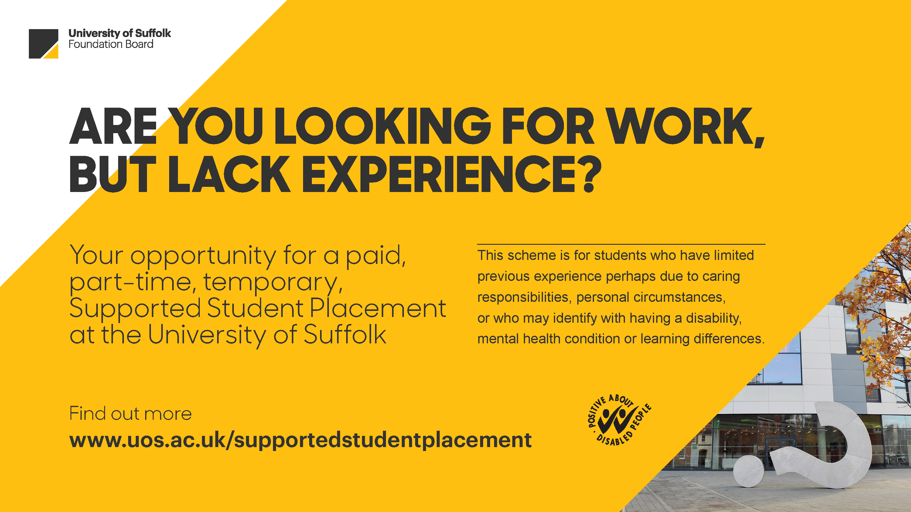 Supported Student Placement Scheme powerpoint 17-18 image